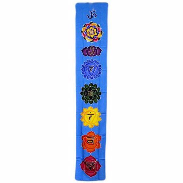 Picture of Banner vertical Chakra - celeste