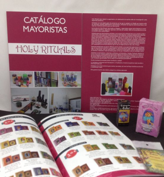 Picture of Full color catalog HOLY RITUALS WITH 3 SIGNS