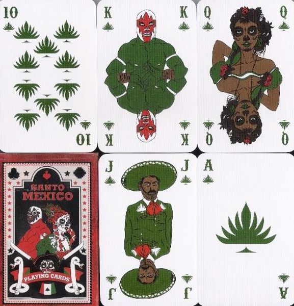 Picture of MEXICO Holy PLAYING CARDS