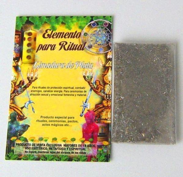 Imagen de Elemento para ritual limadura de plata