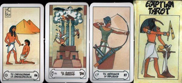 Picture of EGYPTIAN TAROT FOURNIER