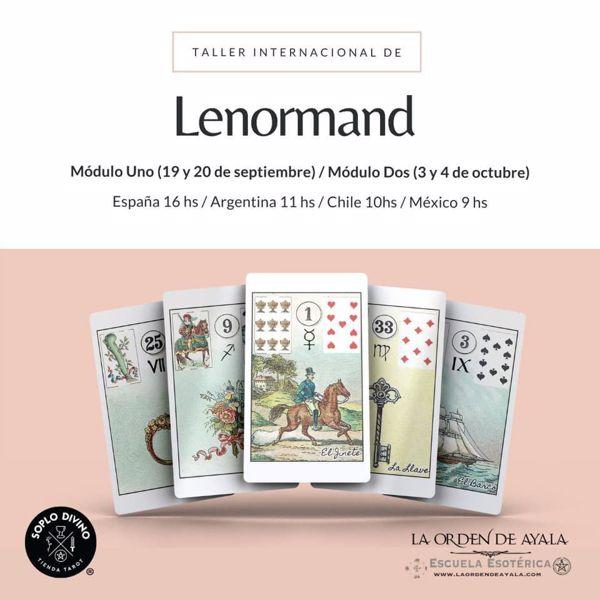 """Imagen de  Lenormand Internacional con Victoria Braojos """"Ayala"""" Contribución 65 euros"""
