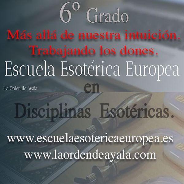 Picture of Sexto Grado en Disciplinas Esotéricas. On line. Directo virtual.