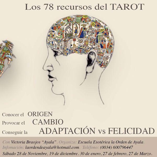 """Picture of Los 78 recursos del Tarot. Laboratorio. Con la maestra internacional Victoria Braojos """"Ayala"""".  Segundo encuentro."""