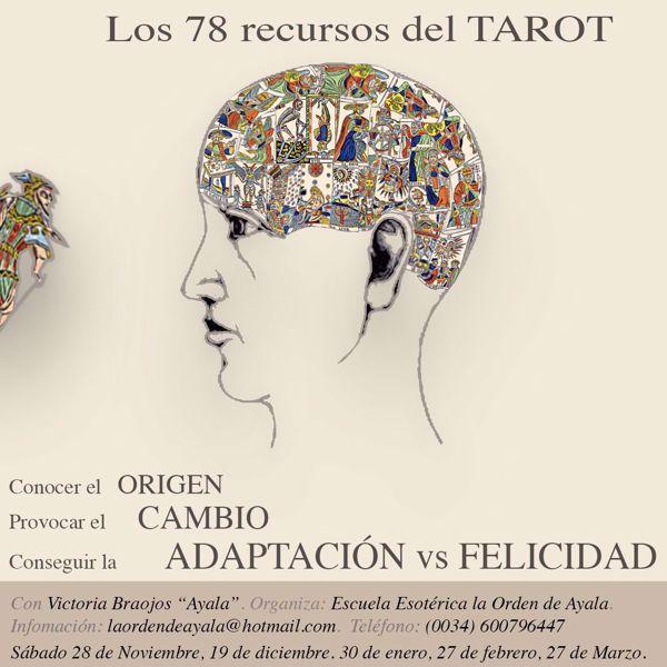 """Picture of Los 78 recursos del Tarot. ON line. Diferido. Laboratorio. Con la maestra internacional Victoria Braojos """"Ayala"""".  (Todos los encuentros)"""