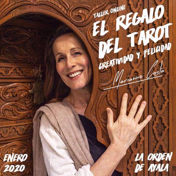 Imagen de Taller On line de Tarot más certificación con Marianne Costa. El Regalo del Tarot: Creatividad y Felicidad.