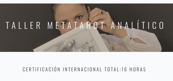 "Picture of METATAROT ANALÍTICO.  Victoria Braojos ""Ayala"".  Taller con certificación Internacional"