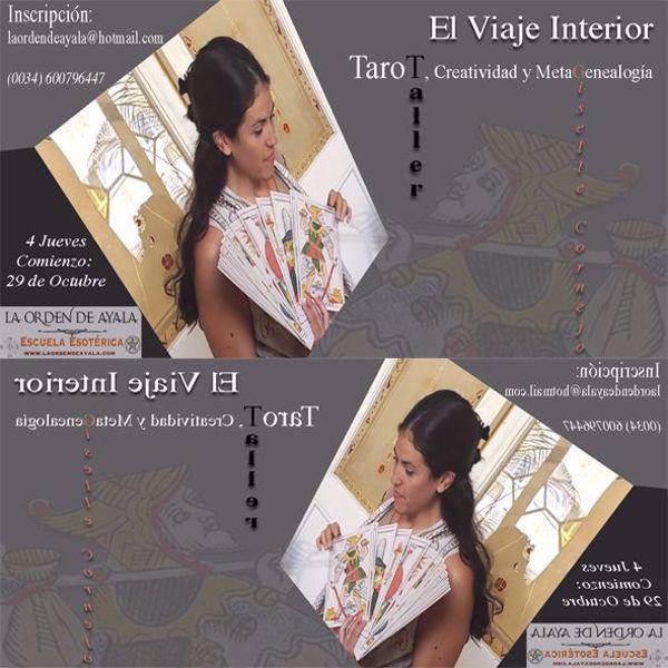 Imagen de Taller de Tarot con Gisele Cornejo. El viaje Interior. 8 horas grabadas. - copy