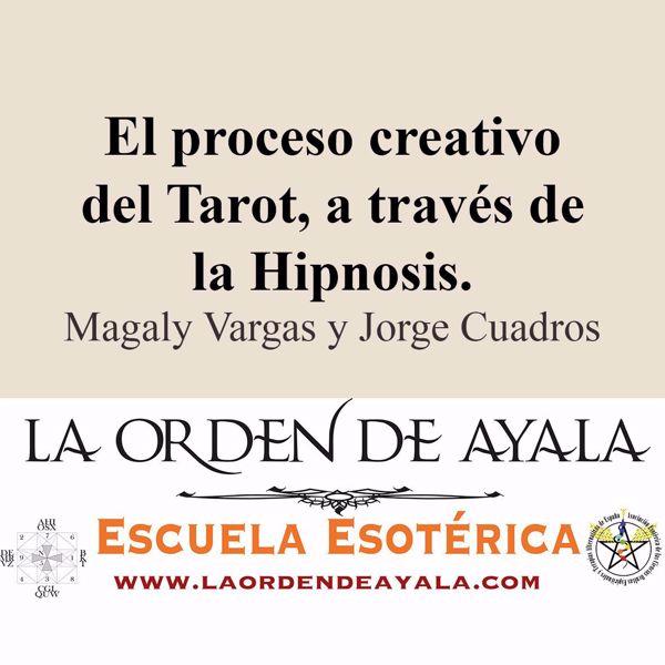 Imagen de El proceso creativo del tarot a través de la hypnosis. Magaly Vargas y Jorge Cuadros.