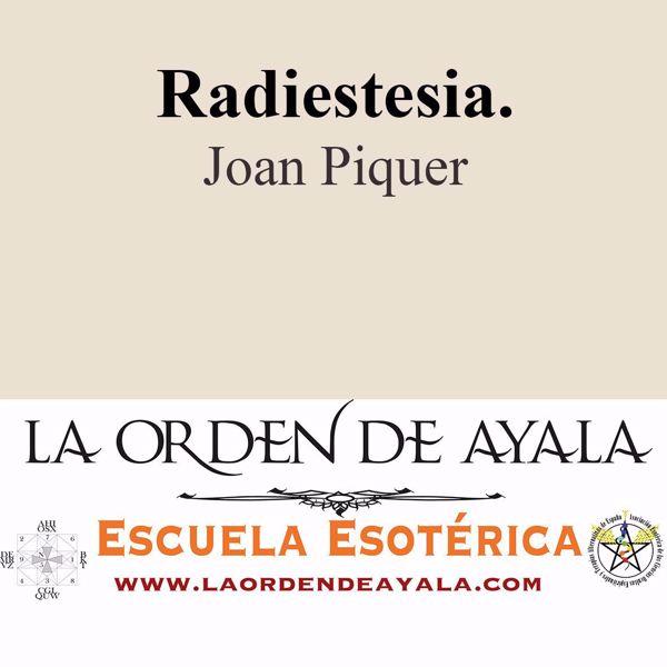 Picture of Radiestesia. Joan Pique.